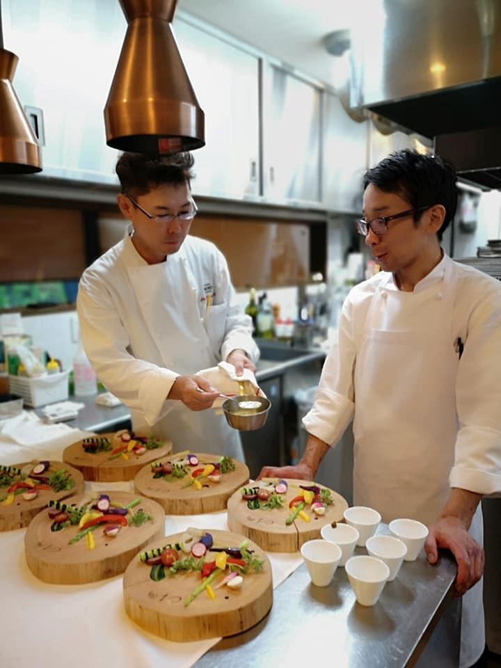 8月26日 start 18時 ディナー NORDシェフ2人による『茨城の食を楽しむ』